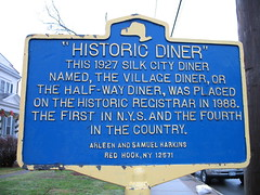 Red Hook Diner plaque