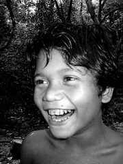 Veddah Child (aufidius) Tags: peopleofsrilanka childrenofsrilankabw