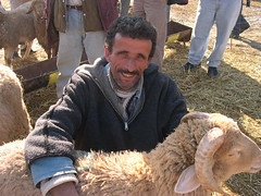 happy shepherd (elmina) Tags: tunisia shepherd sheepmarket
