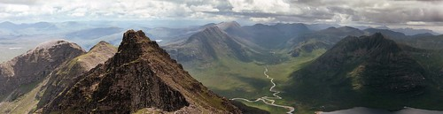 An Teallach: Fisherfield from Sgurr Fiona