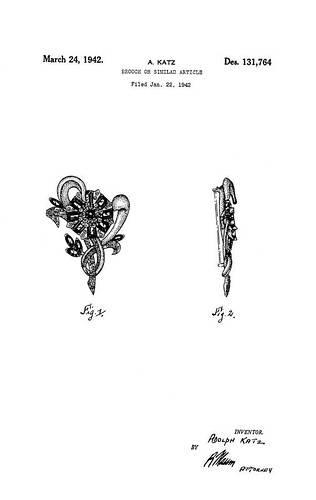 costume jewelry patent