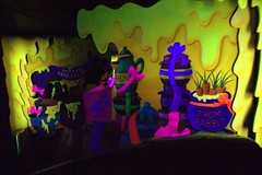 Winnie the Pooh attraction (FrogMiller) Tags: trip travel family vacation holiday rabbit tourism canon fun tour ride disneyland disney tourists gifts honey gift presents pooh present winniethepooh orangecounty anaheim oc hunny dlr themepark attraction californiaadventure crittercountry themeparks disneylandresort onride
