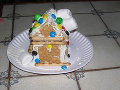 Agent 002's Graham Cracker house