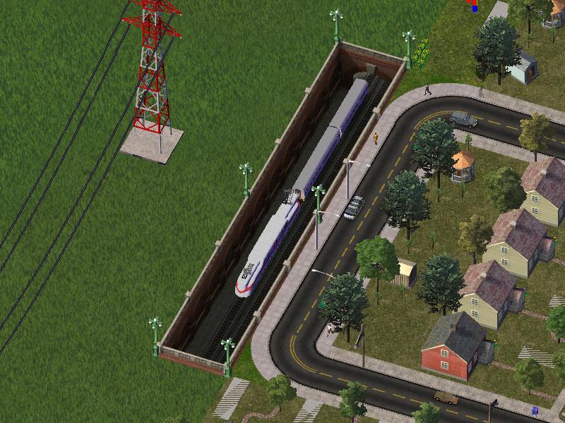 Sunken Heavy Rail