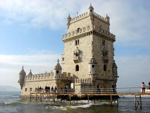 クイズ 世界地図クイズ : Belem Tower Lisbon Portugal