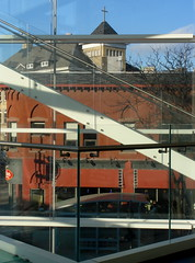 The MMOCA staircase (Ann Althouse) Tags: art museum wisconsin madison staircase mmoca madisonmuseumofcontemporaryart