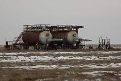 Tanks (Shemya) Tags: kazakhstan  tengiz