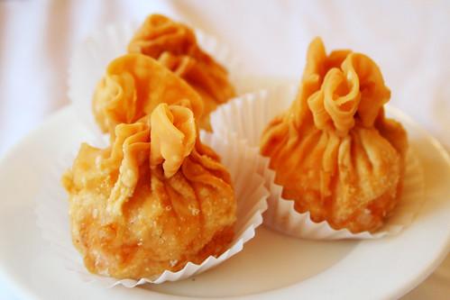 fried crab dumpling things