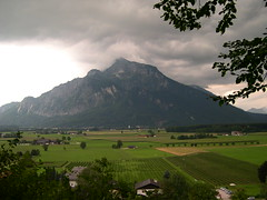Untersberg rising from the plains