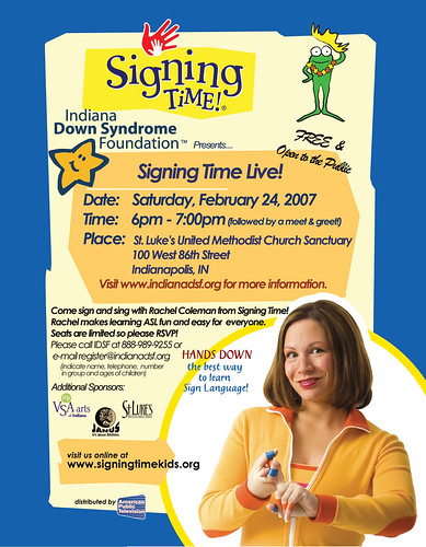 Indianapolis- Signing Time