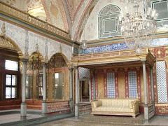 Tempat Sultan Bersemayam Di Dlm Topkapi Palace, Istanbul, Turkey