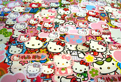 Hello Collage (Katey Nicosia) Tags: hello kitty sanrio stickers collage