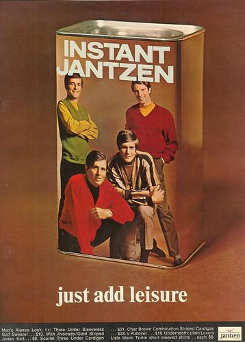 Vintage Ad #143 - Instant Jantzen