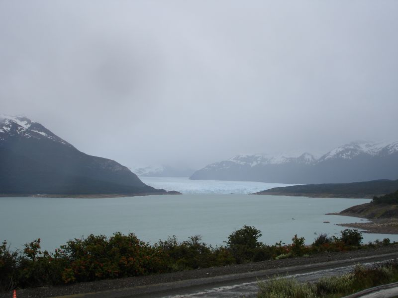 First view of El Calafate