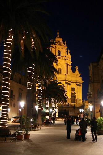 Duomo by night, Ragusa Ibla