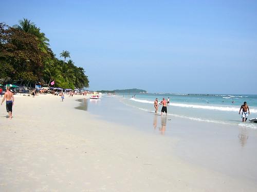 サムイ島‐Chaweng Beach-center
