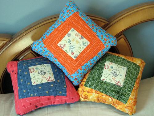 Three Little Pillows
