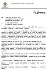 carta ministro cna putre