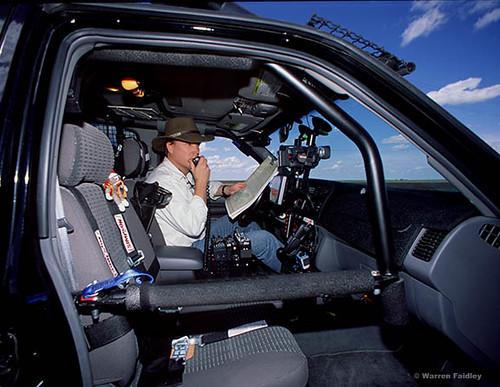 Storm Tornado Chasing Car Truck Van Interceptor Storm Chaser
