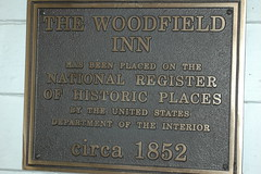 Plaque, Woodfield Inn