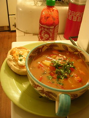 coconut curry soup (h. wren) Tags: newmexico kitchen recipe soup stew coconut albuquerque curry