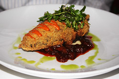 YELLOW CORN CRUSTED CHILE RELLENO
