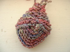 Knitted sachet