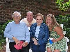 Virginia Graduation Garden Party (LindsayT...) Tags: 2005 gardens dad may charlottesville universityofvirginia uva poppop gardenparty bubbe honeyroastd