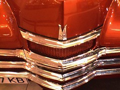 Chrome on caramel (maistora) Tags: classic cars car mobile phonecam camphone cellphone ukraine victory carunguessed soviet russian kiev pobeda maistora sonyericssons700 yahoo:yourpictures=cars