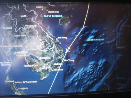 In Flight Map
