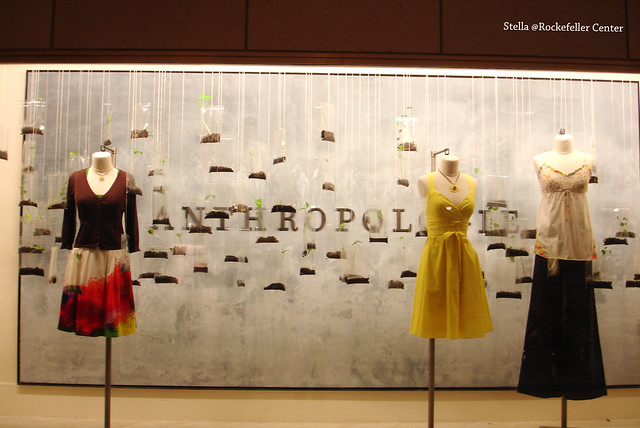 Anthropologie @Rockfeller Center