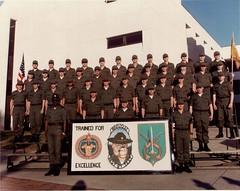 B Co. 12th MP Bn, Ft. McClellan, Alabama - July 1981 (popo.uw23) Tags: b white holland training ed army us al 1982 bravo greg fort 1987 military c united alabama 1988 ds police joe bn company trent f 1984 co 1981 lamb mcclellan bobby ft warren 1989 mp states 1983 12 morgan dennis alpha lambert 1986 12th 1985 sfc laughlin ait basic rodney drill twelve latham foxtrot individual advanced sergeant anniston battalion hammontree twelth a usamps 19811989 kdonian grebbs knytych