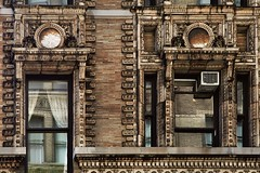 In the Details (Linus Gelber) Tags: nyc windows newyork brick architecture facade decoration broadway airconditioner fancy nycguessed ornate 20thstreet stylish renaissancerevival stanfordwhite warrenbuilding sidewalkstoryguessed 903broadway