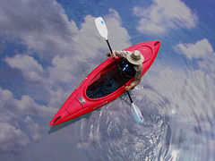 Kayak sobre las nubes / Sailing in the sky