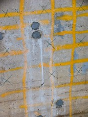 waterlines (liam.jon_d) Tags: abstract geometric yellow port canon river concrete grey republic flag south australian crosses australia powershot inner peoples ad