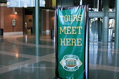 Waiting for the tour (chubb0rz) Tags: stadium packers greenbay