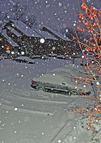 Tuesday snow