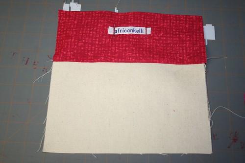label sewn