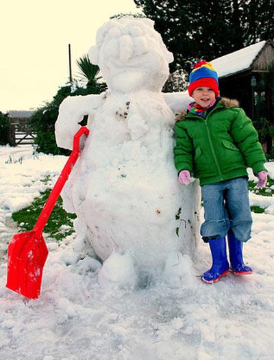 anja's-snowman