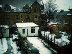 Snow Over Northampton Terraces - by Juror8