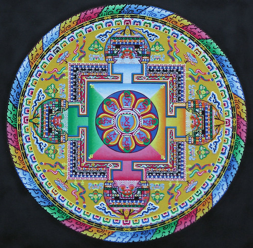 Mandala Sand Painting | Flickr - Photo Sharing!