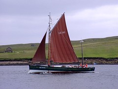 """The Swan (nz_willowherb) Tags: see boat swan flickr tour vessel visit herring shetland drifter willowherb to"""" """"go lk240 visitshetland seeshetland goptoshetland"""