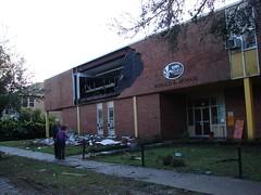 New Orleans Tornado Damage: McNair School
