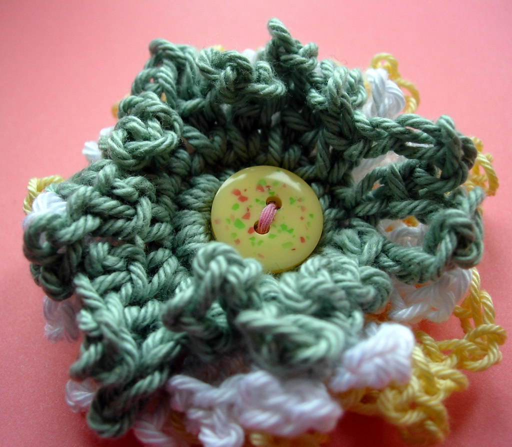 Yellow and Green Flower Corsage
