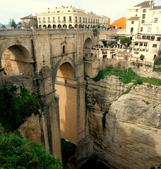 "Ronda ""Nuevo"" Bridge [built in 1793] (papalars) Tags: wow wonderful amazing spain superb top awesome profile andalucia best ronda winner win incredible digitalrebelxt winners impressive arquitecture challengewinner travelerphotos motifdchallengewinner motifd papalars challengewinners andrewelarsen"
