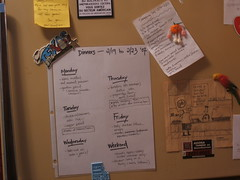 all HAIL the new regime! (petit hiboux) Tags: organization whatsonmyfridge mealplanning