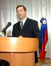Slovenian defense minister Karl Erjavec
