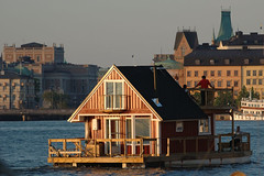 House Boat (Mark Rutter) Tags: house boat all sweden stockholm lowsun l3 i120 markrutter