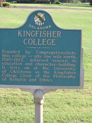 Exploring Oklahoma History: Kingfisher College