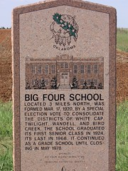 Exploring Oklahoma History: Big Four School